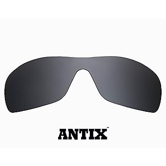 ANTIX Replacement Lenses Advanced Black Iridium by SEEK fits OAKLEY Sunglasses
