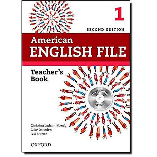 American English File  Level 1  Teacher& 039;s Book with Testing Program CD-ROM