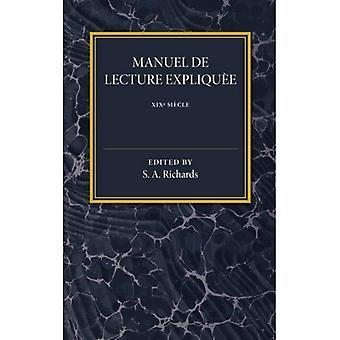 Manuel de Lecture Expliquee