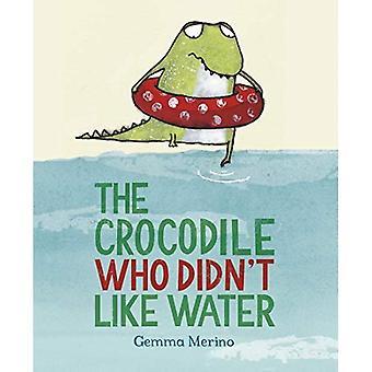 Krokodilen som inte gillar vatten
