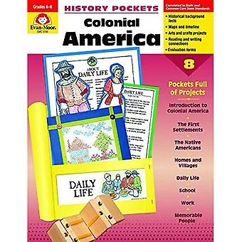 History Pockets, Colonial America, Grades 4-6