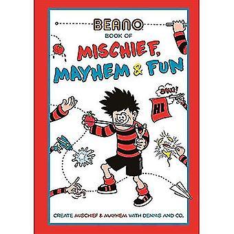 Beano kirja ilkivalta, sekasortoa ja hauskaa