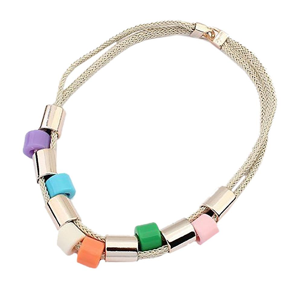 Waooh - necklace with colored beads Siby