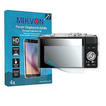Panasonic Lumix DMC-GF6 Screen Protector - Mikvon Armor Screen Protector (Retail Package with accessories)