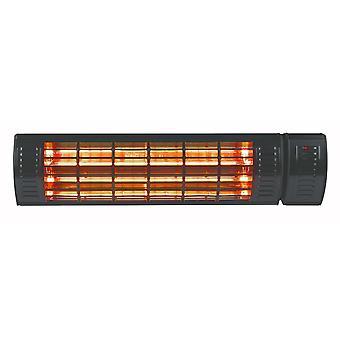 Eurom Golden 2000W ULTRA RCD heater - zwart