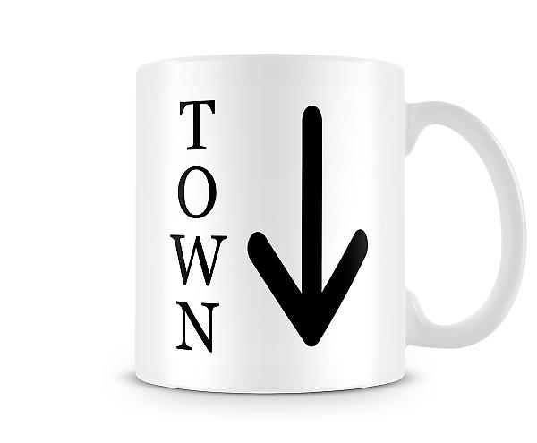 Say What You See Down Town Mug