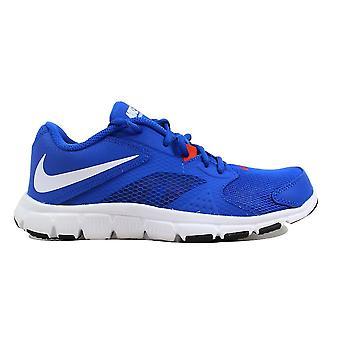 Nike Flex Supreme TR 3 Hyper Cobalt/Black-White-Team Orange  Grade-School 653883-400 Size 6 Medium