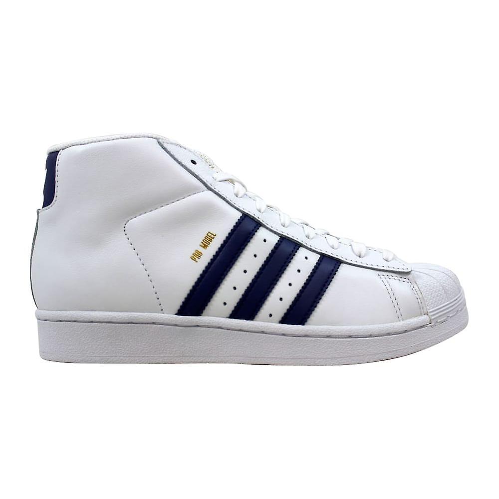 Adidas Pro Model J blanc Super violet or CQ0624 école primaire