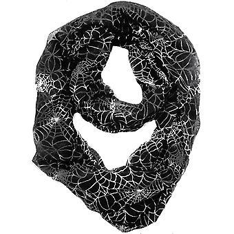 Skjerf Infinity edderkoppnett