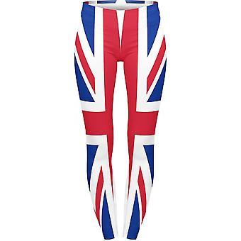 Union Jack tragen Union Jack Leggings XXL