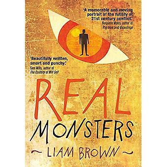 Real Monsters by Liam Brown - 9781787198685 Book