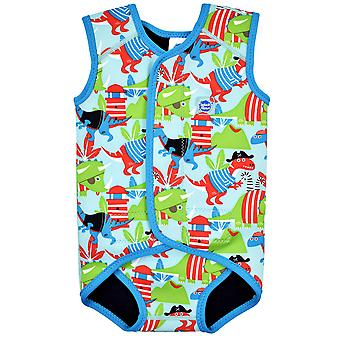 Splash About Baby Wrap Sleeveless Wetsuit | Dino Pirates