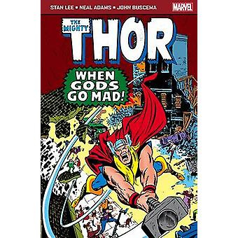 Marvel Pocketbook - The Mighty Thor - When Gods Go Mad by Stan Lee - Ne