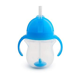 Munchkin Click Lock Tip & Sip Straw Cup 200ml - Blue