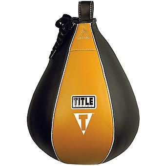 Title Boxing Leather Speed Bag - Large (8