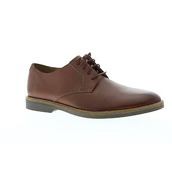 Clarks Atticus Lace  Mens Brown Comfort Casual Lace Up Oxfords Shoes