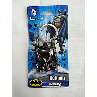 Metal Key Chain - DC Comic - Batman Mask Pewter New Gifts Toys New 45139