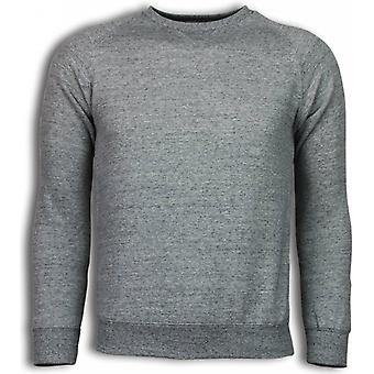 Basic Fit Crewneck-sweatshirt-Grey