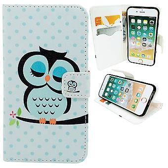 Iphone 7/8-Wallet cas-