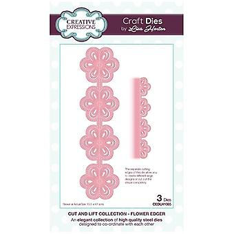 Creative Expressions Die Set Flower Edger by Lisa Horton Set of 3 | Cut and Lift Collection