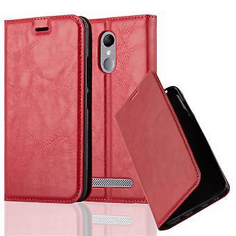 Cadorabo tilfældet for ZTE BLADE A602 Case Cover-telefon tilfældet med magnetisk lukning, stativ funktion og kort case rum-sag Cover sag sag sag case sag bog folde stil