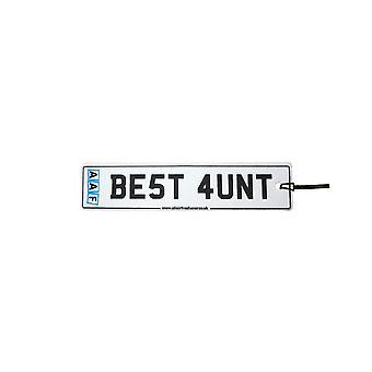 AAF - Best Aunt License Plate Car Air Freshener
