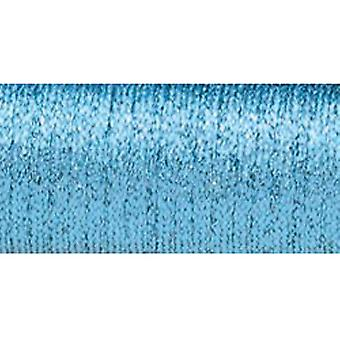 Kreinik Very Fine Metallic Braid #4 11 Meters 12 Yards Sky Blue Hi Lustre Vf 014Hs