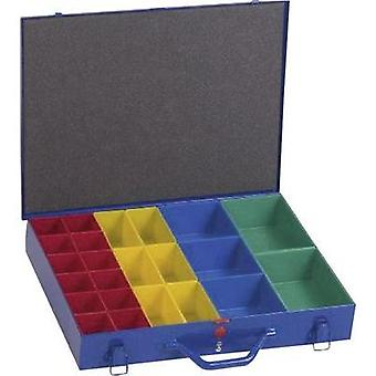 Alutec 10550 Blue organiser case with removeable compartments (L x W x H) 440 x 330 x 66 mm