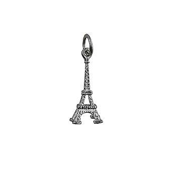 Colgante Torre Eiffel de plata 17x9mm o encanto