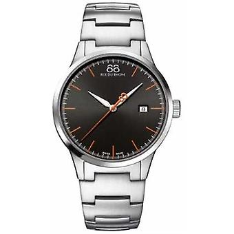 88 Rue du Rhone Mens Steel Strap Round Black Dial 87WA154103 Watch