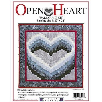 Open Heart Wall Quilt Kit-22