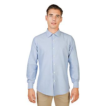Oxford University Shirt Männer blau