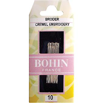 Crewel Embroidery Needles-Size 10 15/Pkg 722