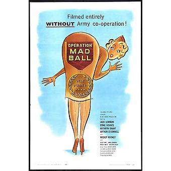 Operation Mad Ball Movie Poster Print (27 x 40)