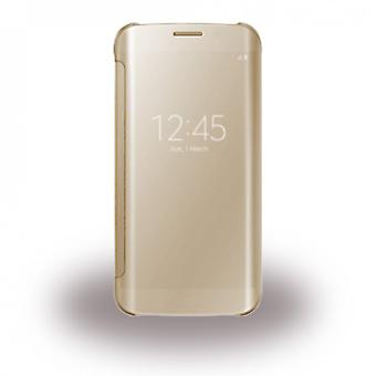 Samsung bulk EF-ZG930CFE clear view book cover cover gold for G930F Galaxy S7