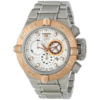 Invicta Men's 11344 Subaqua Analog Display Swiss Quartz Silver Watch