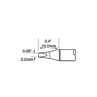Soldering tip Chisel-shaped OKI by Metcal SFP-CH20 Tip size 2 mm Tip length 10 mm Content 1 pc(s)