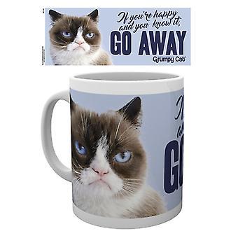 Grumpy Cat przejść od kubek