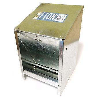 Eton galvaniseret vægmonteret Hopper Feeder 2,5 kg
