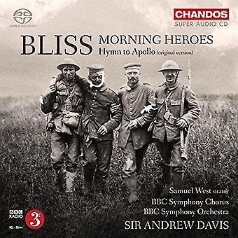 Bliss / BBC Symphony Chorus / BBC Symphony Orch - Morning Heroes - Hymn to Apollo [SACD] USA import