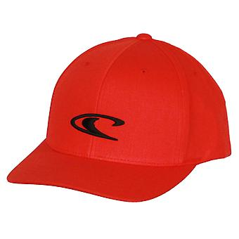 O'Neill Snapback Curve Cap ~ Wave red