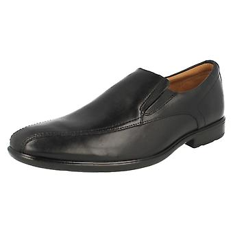 Herren Clarks Smart Slip-on Schuhe Gosworth Schritt
