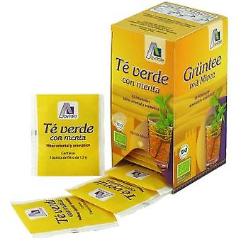 Madal Bal green tea with Mint Bio 20 sachets.