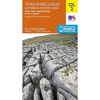 Exp/Ol 02 Yorkshire Dales South & Wet by Ordnance Survey