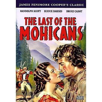 Sidste mohikaner (1936) [DVD] USA importen
