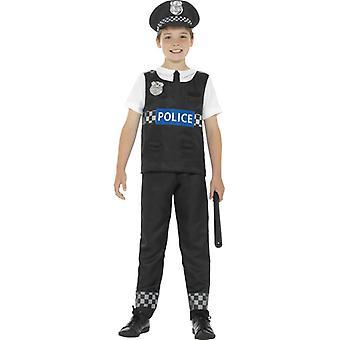 Polisen Bobby COP barn kostym