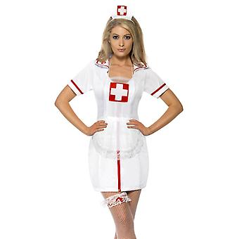 Nurse set nurse 3 piece set Hat garter skirt