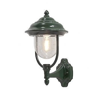 Konstsmide Parma Up Wall Light Green