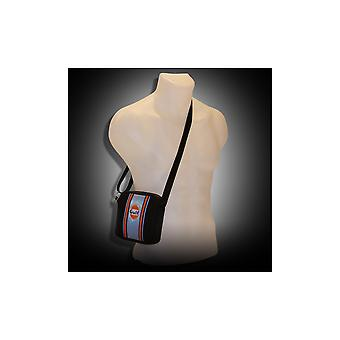 Continental Racing Gulf Collection Continental Racing Gulf Collection Small Pouch Bag - Blue  Stripe