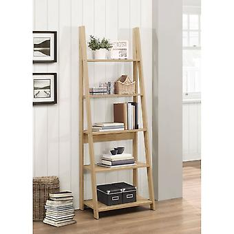Birlea Nordic Ladder Bookcase Oak